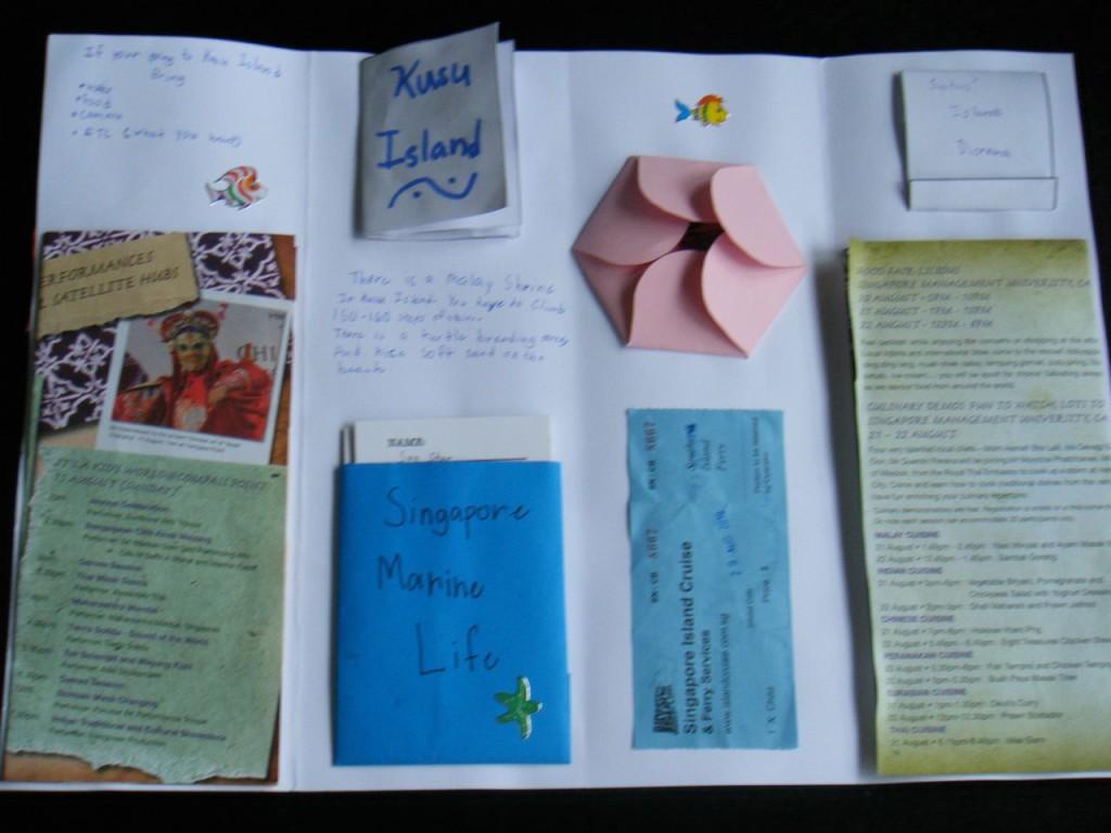 Inside Kylie's lapbook