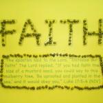 Kylie's Faith poster