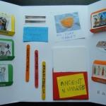 Inside Rafa's lapbook