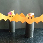 tissue tube Halloween loot bat