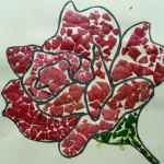 Rose Eggshell Mosaic