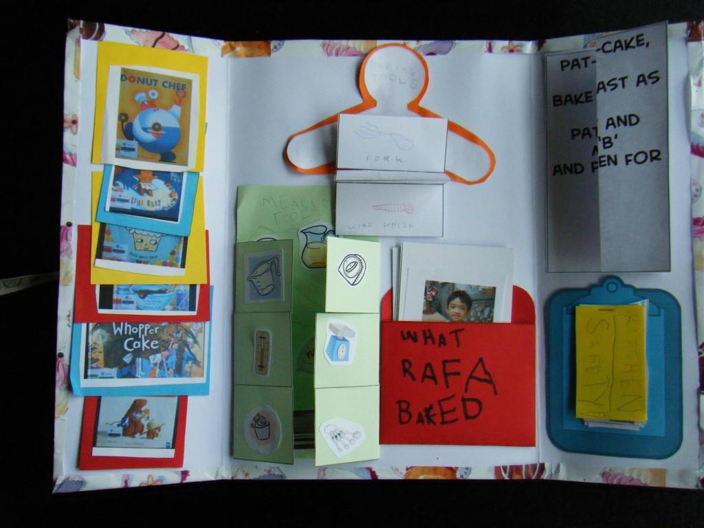 Rafa's baking lapbook-inside