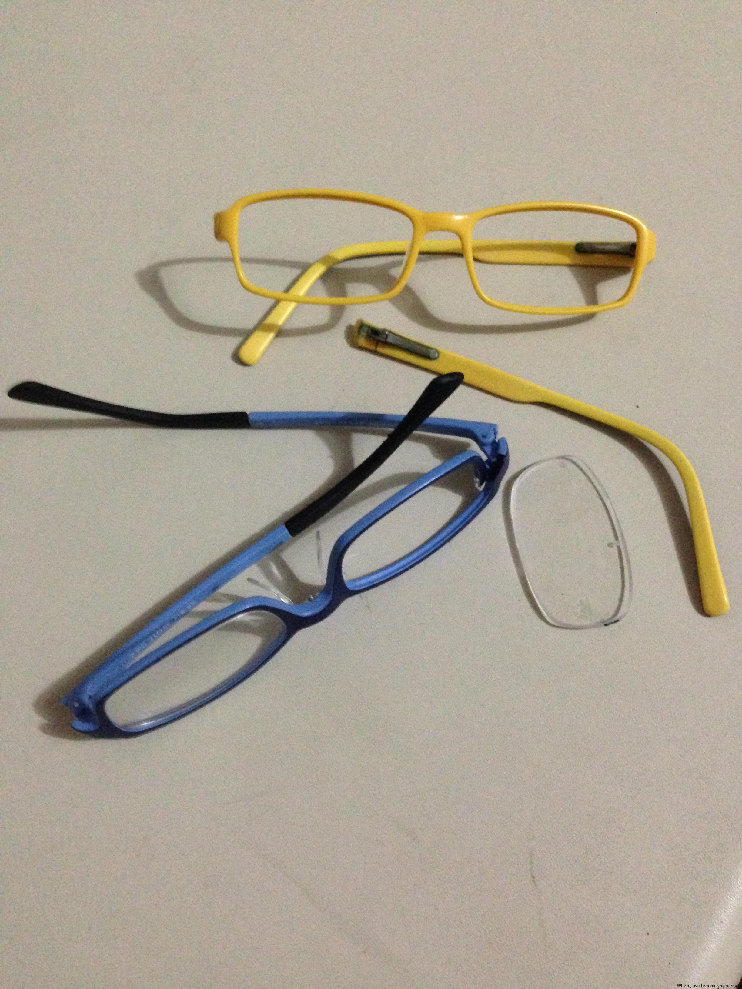 Sports frames for eyeglasses - Broken Eyeglass Frames