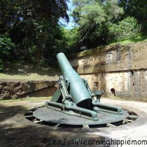 Artillery in Corregidor