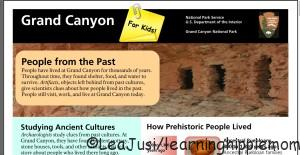 Grand Canyon for Kids article