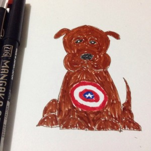 New Marvel Character: Captain America's dog
