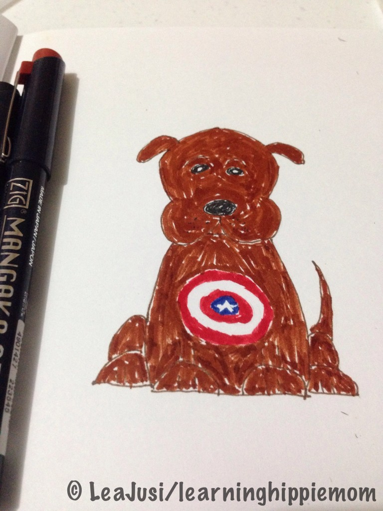 New Marvel Character: Captain America's dog