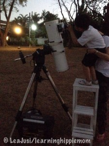 Telescope Viewing in the Park